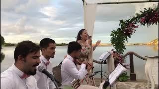 Namoro Demodê (Violino + Percussão) por Tati Maisan | AO VIVO - Música para Casamento ES