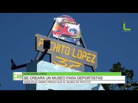 Se creará un museo para deportistas, Javier Lunari y José Maria Lopez