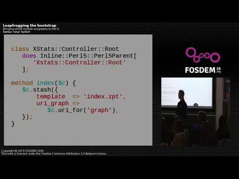 FOSDEM 2015 - Developer Room - Perl - Dules Ecosystem Perl6.mp4
