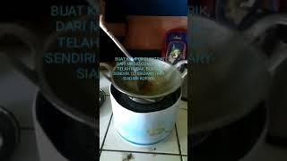 Kompor elektrik, dari bekas magic com yang telah rusak dapat di buat menjadi kompor masak elektrik