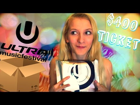 Unboxing Ultra Music Festival Ticket 2017- Miami