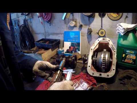 Ремонт МТЗ - Раздаточная коробка и подвесная промежутка