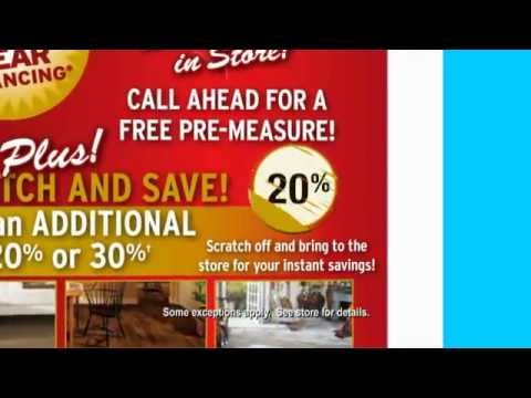 Kerns Carpets Scratch Off 77th Anniversary Sale - YouTube