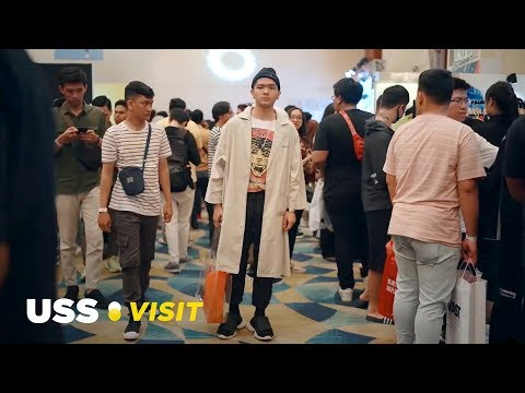 OUTFIT-OUTFIT KEREN DI JAKARTA SNEAKER DAY 2019!!