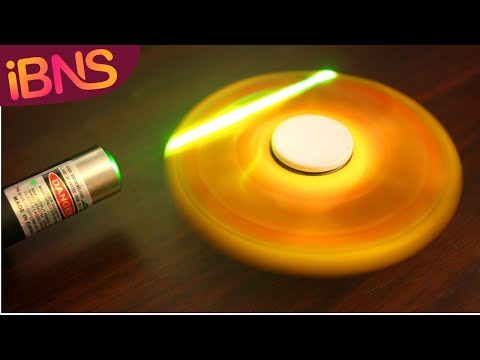 Really 99999 RPM? Fidget Spinners: Using lasers to measure RPM (DIY Arduino tutorial)