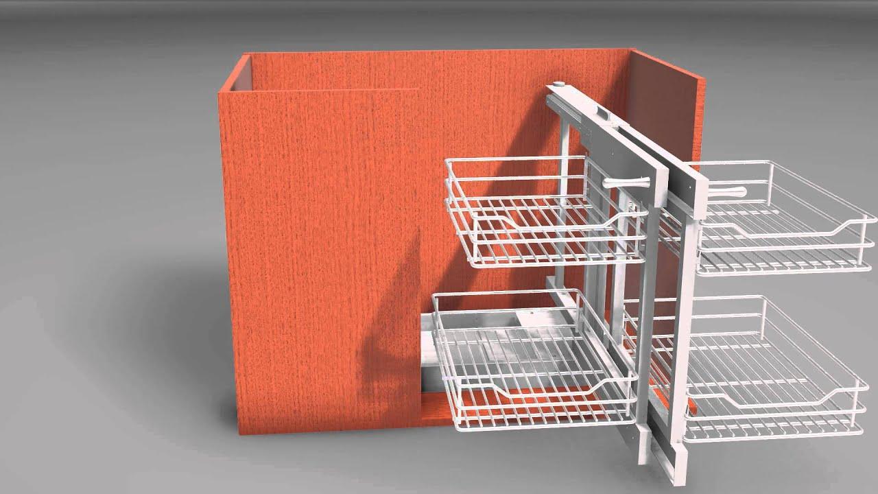 Soluciones Para Muebles De Cocina En Esquina Trendy Aprovechar  # La Esquina Muebles