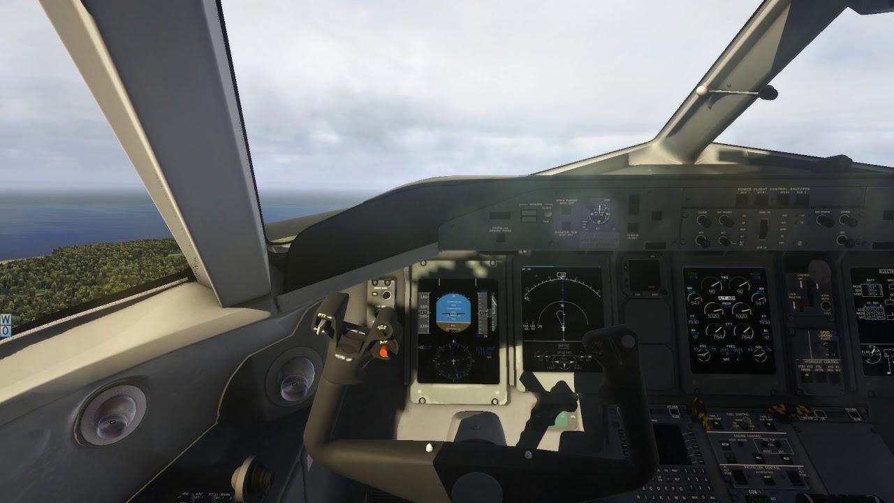 X-Plane 11 - FF A320, Sarajevo, xEnviro, Ortho4XP by Skellon