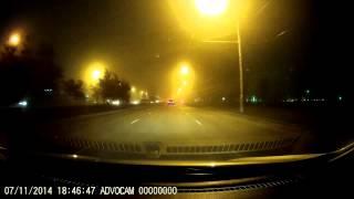 Advocam FD Black Ночная съёмка в туман