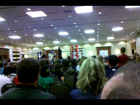 Kevin VanNostrand Fight 6 (against Carter McGhie)