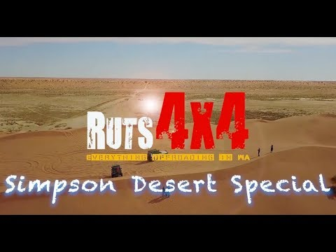 Ruts4x4 - The Simpson Desert & Birdsville