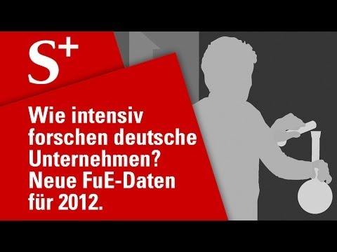 Wie intensiv forschen deutsche Unternehmen?