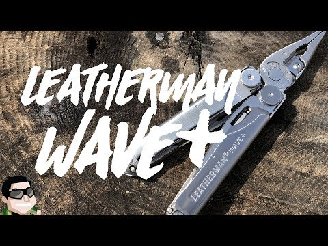 New!! Leatherman Wave + Upgraded 2018