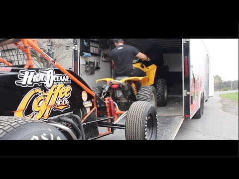 Non-wing sprint car testing at Deerfield