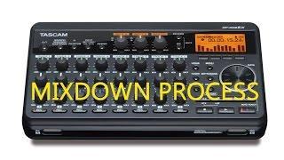 Mixdown On Tascam DP00EX PortaStudio