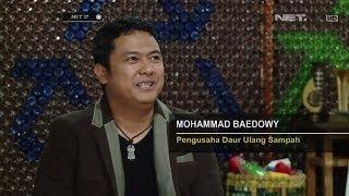 Mohammad Baedowy Raup Untung Ratusan Juta Tiap Bulan dari Daur Ulang Sampah -NET17