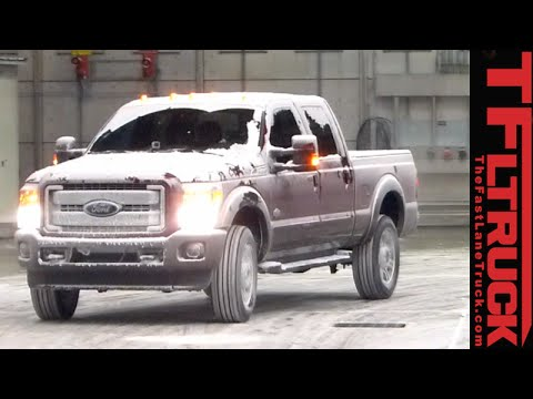 2017 Ford Super Duty Deep Freeze Testing: When -20F is balmy