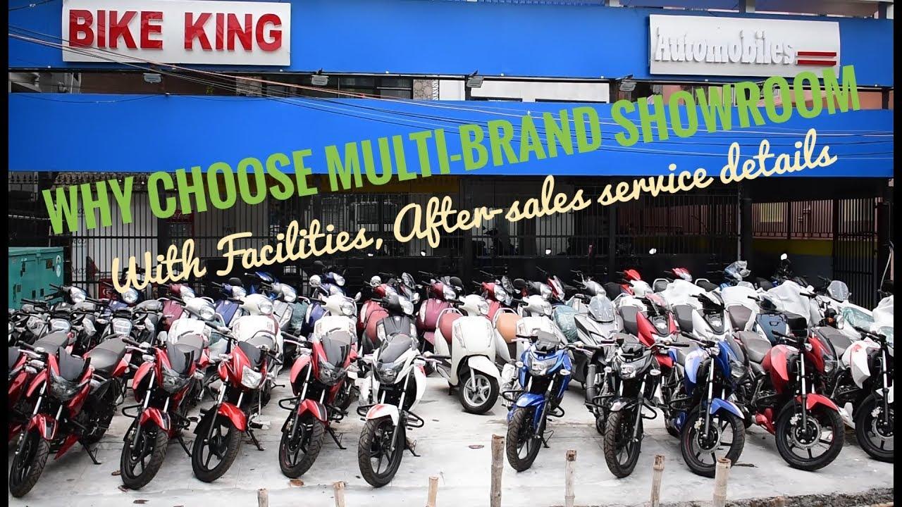 Kolkata S Biggest Multi Brand Bike Showroom Facilities And