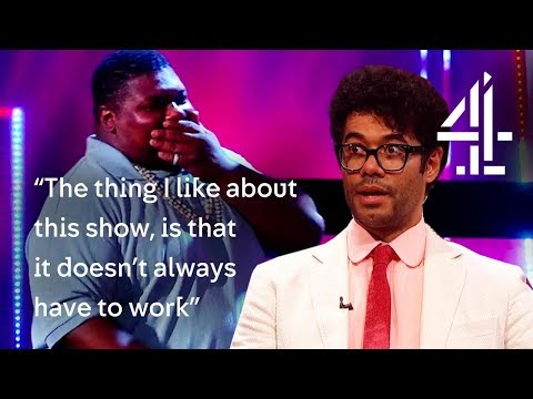 Richard Ayoade & Big Narstie DISS EACH OTHER?!  The Big Narstie