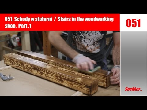 051 Schody w stolarni / Stairs within the woodworking store  Half 1