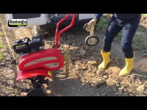 Kadıoğlu Smart Motorlu Çapa Makinesi