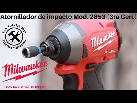 Atornillador de impacto Milwaukee 2853 3ra gen