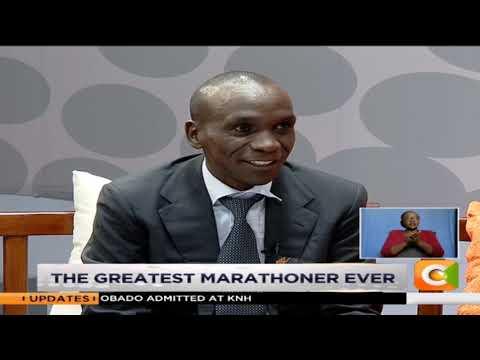 JKL | Talking with World's Greatest Marathoner Eliud Kipchoge [Part 1] #JKLive