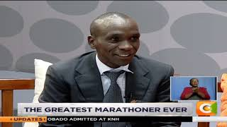 JKL | Talking with World's Greatest Marathoner Eliud Kipchoge [Part 1] #JKLive