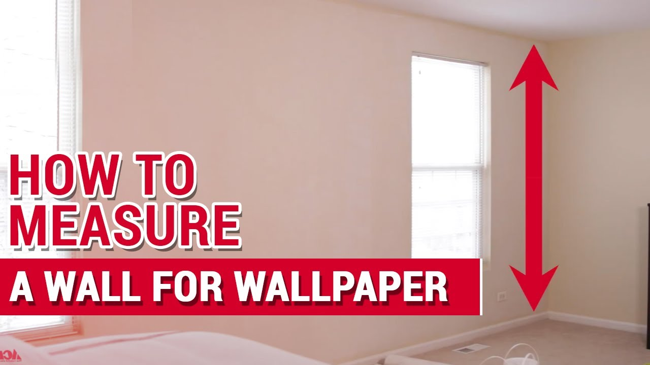 How To Measure A Wall For Wallpaper Ace Hardware Youtube