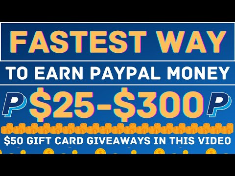 The BEST way to Earn $300 Online With Paypal in 2021 (Make Money Online)
