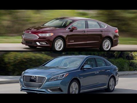 Lovely 2017 Ford Fusion Hybrid Vs. 2016 Hyundai Sonata Hybrid