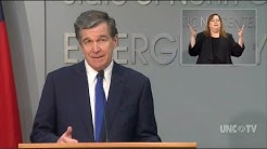 NC governor says state will move into limited Phase 2 of relaxed COVID restrictions