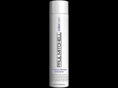 Paul Mitchell Forever Blonde Shampoo Platinum Conditioner