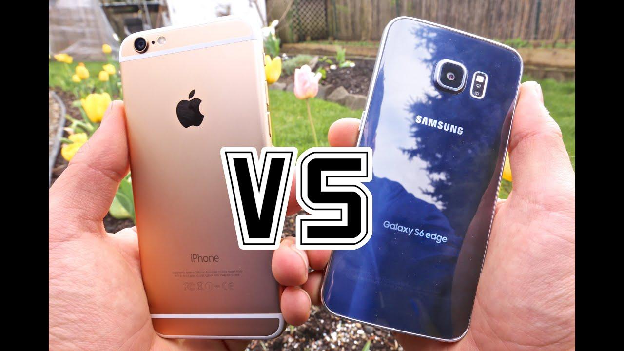 Samsung Galaxy S6 Edge VS iPhone 6 - Full Comparison