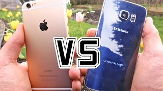 Samsung Galaxy S6 Edge VS iPhone 6 - Full Comparison