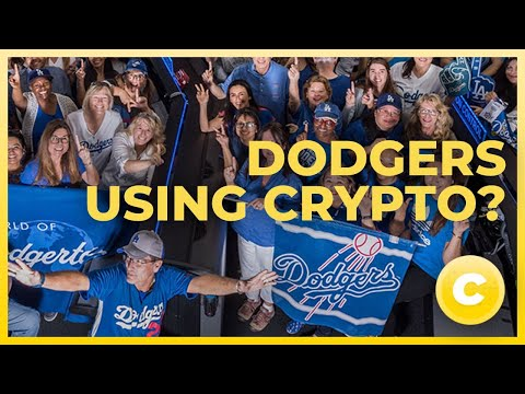 GOOD NEWS : HOW THE DODGERS ARE SHOWING CRYPTO LOVE. BTC LTC DGB XRP