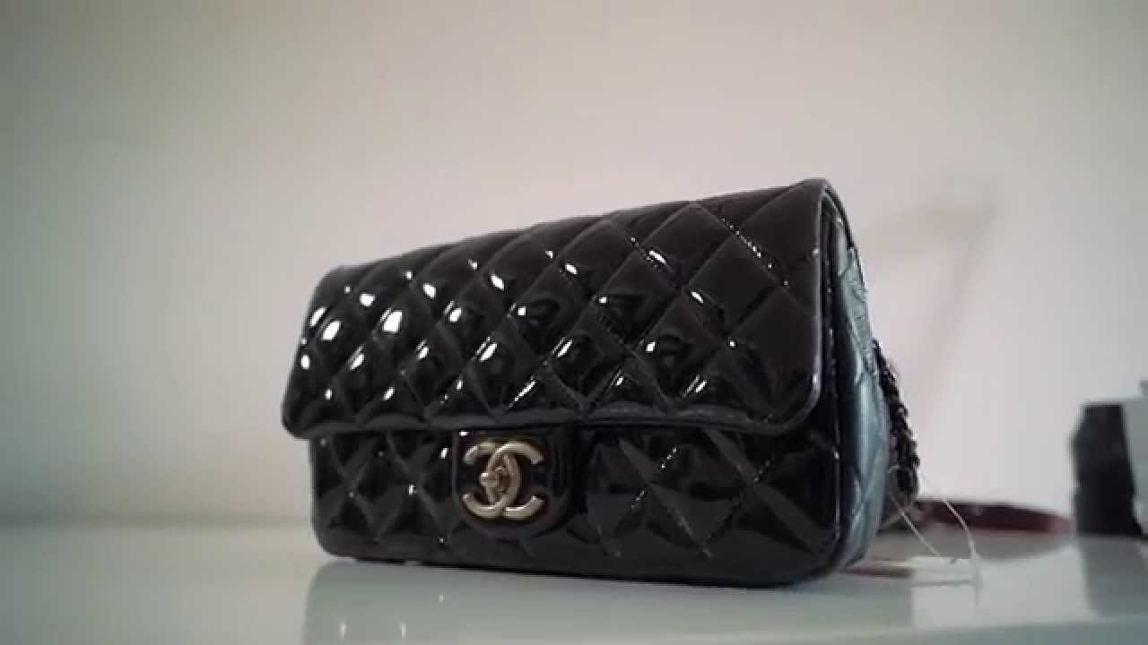 f0e67e03de73 Chanel CC Eyelet - Patent Goatskin Flap Bag with a Medallion on The Chain -  Pre Fall 2015 - YouTube