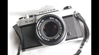 Pentax K-1000 Test How to review film camera