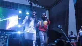 Rasta love Ky-Mani Marley ft Protoje Jamming Festival 2015