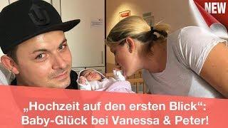 """""""Hochzeit auf den ersten Blick"""": Baby-Glück bei Vanessa & Peter!   CELEBRITIES und GOSSIP"""