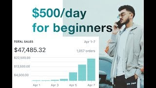 How to Start Dropshipping with NO money as a BEGINNER | $500/day