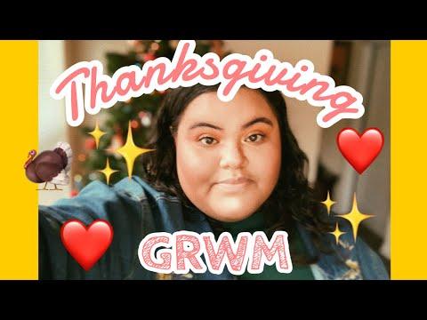 Thanksgiving GRWM thumbnail