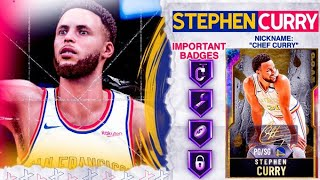 G.O.A.T. GALAXY OPAL STEPH CURRY GAMEPLAY! 99 DRIVING DUNK! 15+ HOUR GRIND WORTH IT? NBA 2k20 MyTEAM
