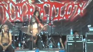 Immortal Rites Kediri Black Metal Live X-GENERATION#4 (Santana Community)