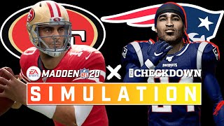 Jimmy G's Return to New England! 49ers vs. Patriots Week 7 Full Game | Madden 2020 Season Simulation