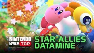Kirby Star Allies Datamined! | Nintendo Wiretap