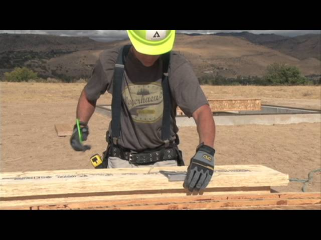 Detail #H1 - Trus Joist EWP Floor Installation Guide
