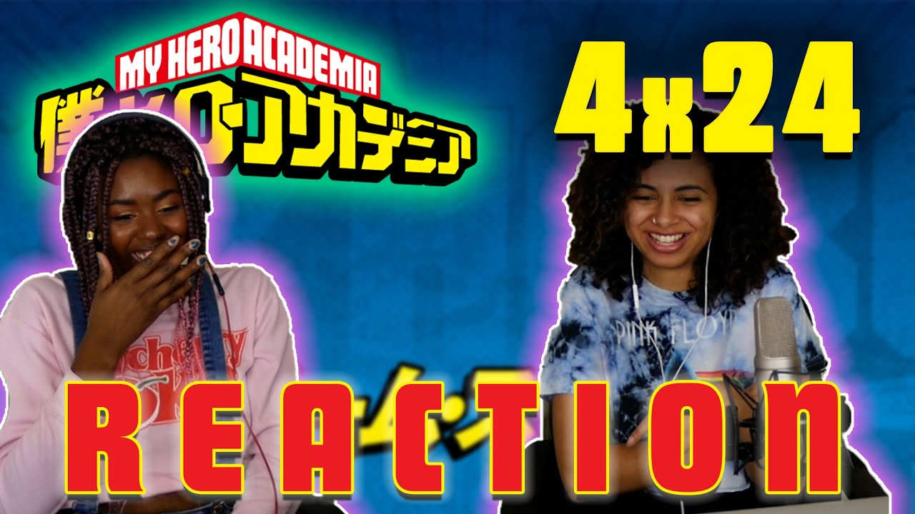 Download My Hero Academia 4x24 REACTION!!