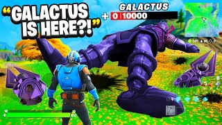 GALACTUS Live Event Prank On Shadical - Fortnite
