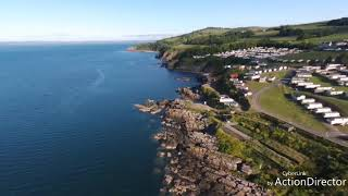 Parrot bebop 2 over Auchenlarie Holiday Park, Castle Douglas, Dumfries and Galloway.