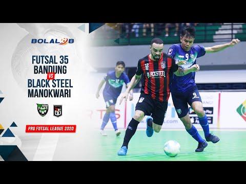 Futsal 35 Bandung (2) Vs (6) Black Steel Manokwari   Highlights Pro Futsal League 2020